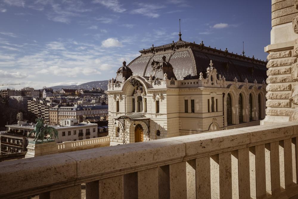 Folyamatosan szépül a Budavári Palotanegyed