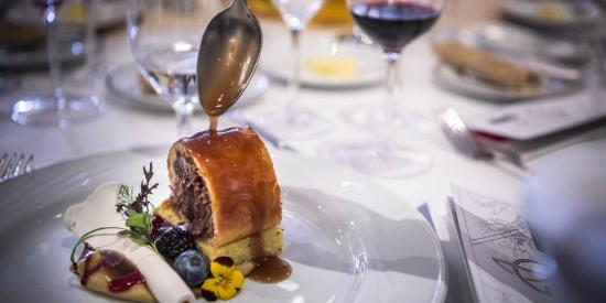 Gala lunch honoring Hungarian Winemaker of the Year